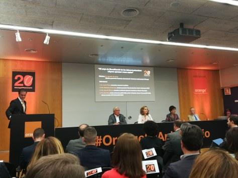 """Presentació de l'informe """"Impacte de 20 anys de liberalització de les telecomunicacions a Catalunya"""", Campus Nord, 3 de juny de 2019, 10h"""