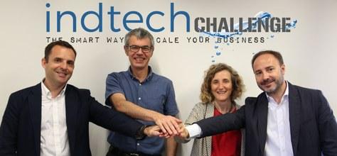 """Presentació de l'""""Indtech Challenge"""" per part de Girbau i Seidor al Pier 01, 27 de juny de 2018, 11h"""