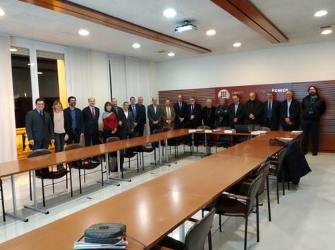 Tercera reunió plenària del Consell Empresarial de la UPC (17 de gener de 2019, 19h)